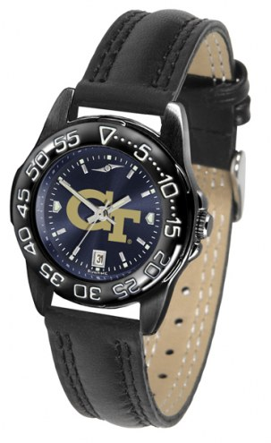 Georgia Tech Yellow Jackets Ladies Fantom Bandit AnoChrome Watch