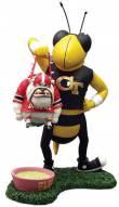 Georgia Tech Yellow Jackets Lester Single Choke Rivalry Figurine