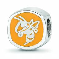 Georgia Tech Yellow Jackets Sterling Silver Logo Bead