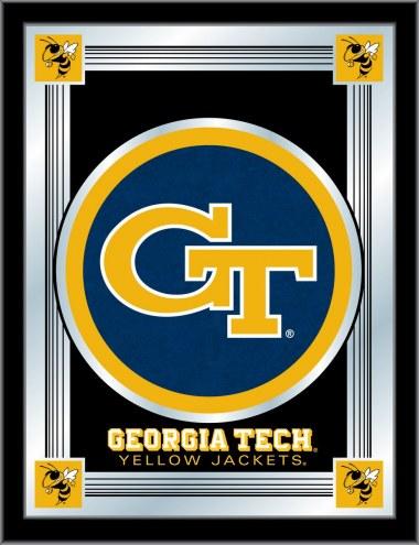 Georgia Tech Yellow Jackets Logo Mirror