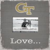Georgia Tech Yellow Jackets Love Picture Frame