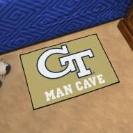 Georgia Tech Yellow Jackets Man Cave Starter Mat
