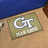 Georgia Tech Yellow Jackets Man Cave Starter Mat