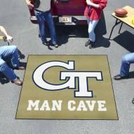 Georgia Tech Yellow Jackets Man Cave Tailgate Mat