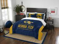 Georgia Tech Yellow Jackets Modern Take Full/Queen Comforter Set