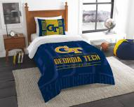 Georgia Tech Yellow Jackets Modern Take Twin Comforter Set