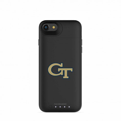 Georgia Tech Yellow Jackets mophie iPhone 8/7 Juice Pack Air Black Case