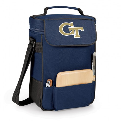 Georgia Tech Yellow Jackets Navy Duet Insulated Wine Bag