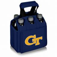 Georgia Tech Yellow Jackets Navy Six Pack Cooler Tote