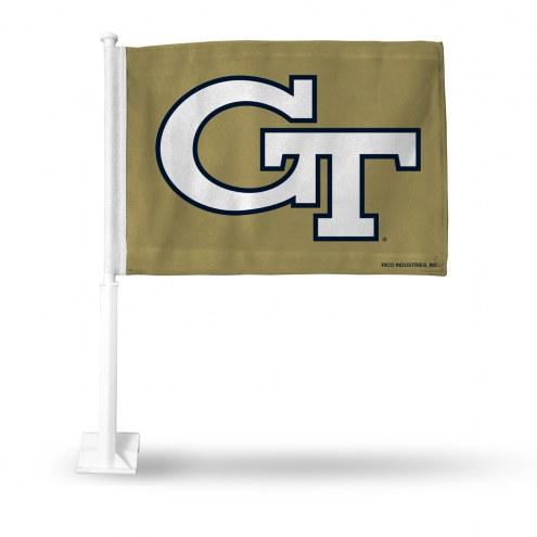 Georgia Tech Yellow Jackets Car Flag
