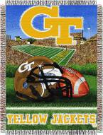 Georgia Tech Yellow Jackets NCAA Woven Tapestry Throw Blanket