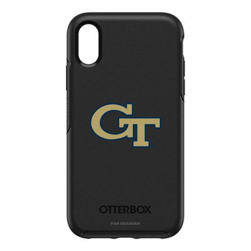 Georgia Tech Yellow Jackets OtterBox iPhone XR Symmetry Black Case
