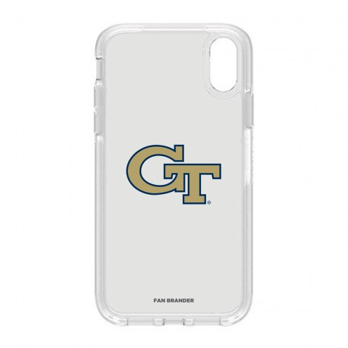 Georgia Tech Yellow Jackets OtterBox iPhone XR Symmetry Clear Case