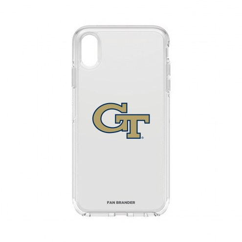 Georgia Tech Yellow Jackets OtterBox iPhone XS Max Symmetry Clear Case