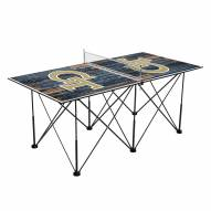 Georgia Tech Yellow Jackets Pop Up 6' Ping Pong Table