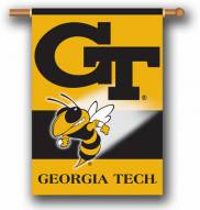 """Georgia Tech Yellow Jackets Premium 28"""" x 40"""" Two-Sided Banner"""