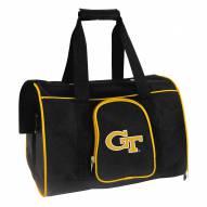 Georgia Tech Yellow Jackets Premium Pet Carrier Bag