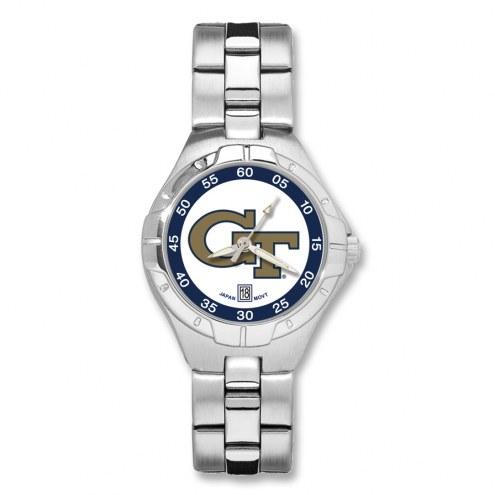 Georgia Tech Yellow Jackets Pro II Women's Bracelet Watch