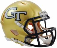 Georgia Tech Yellow Jackets Riddell Speed Mini Collectible Football Helmet