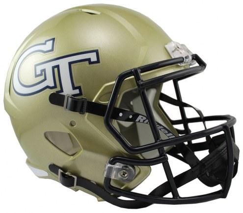 Georgia Tech Yellow Jackets Riddell Speed Collectible Football Helmet