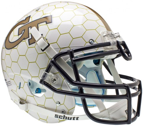 Georgia Tech Yellow Jackets Schutt XP Authentic Full Size Football Helmet