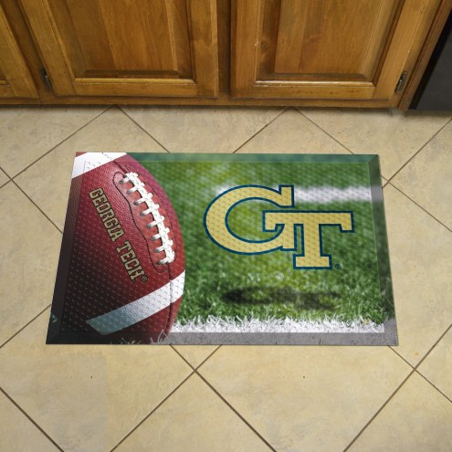 Georgia Tech Yellow Jackets Scraper Door Mat
