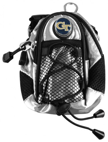 Georgia Tech Yellow Jackets Silver Mini Day Pack