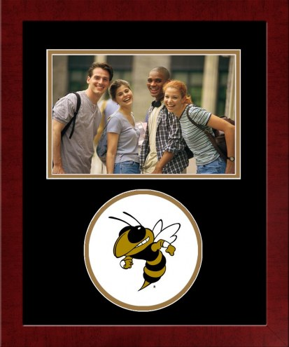 Georgia Tech Yellow Jackets Spirit Horizontal Photo Frame