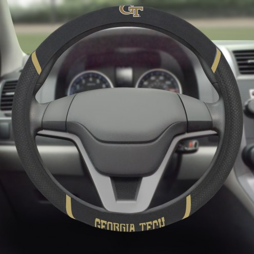 Georgia Tech Yellow Jackets Steering Wheel Cover