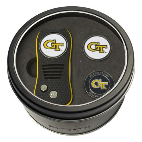 Georgia Tech Yellow Jackets Switchfix Golf Divot Tool & Ball Markers