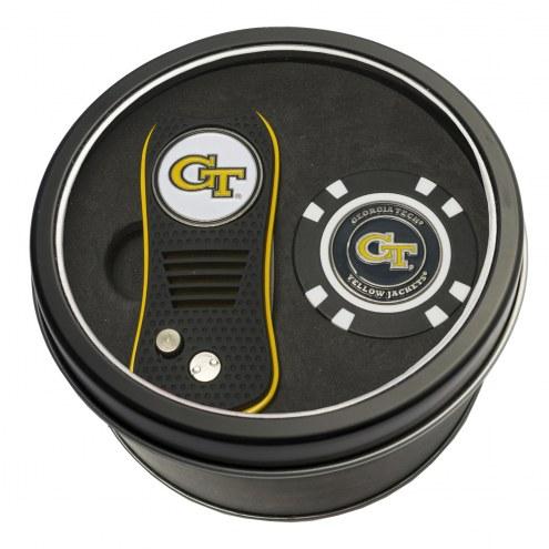 Georgia Tech Yellow Jackets Switchfix Golf Divot Tool & Chip