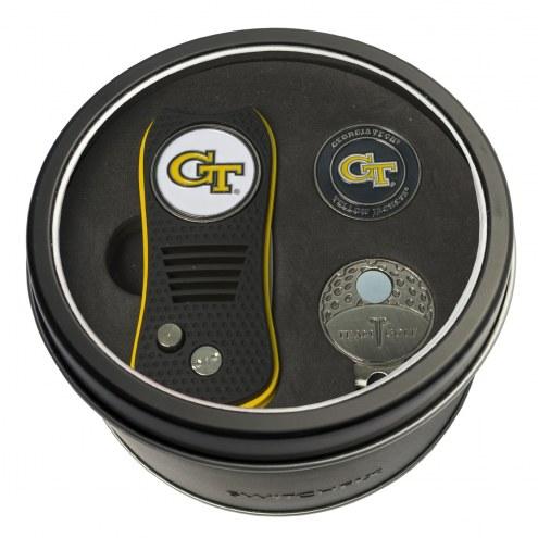 Georgia Tech Yellow Jackets Switchfix Golf Divot Tool, Hat Clip, & Ball Marker