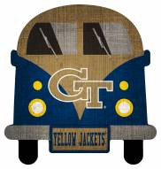 Georgia Tech Yellow Jackets Team Bus Sign