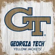 Georgia Tech Yellow Jackets Team Logo Block