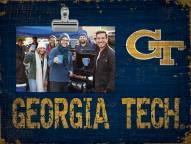 Georgia Tech Yellow Jackets Team Name Clip Frame