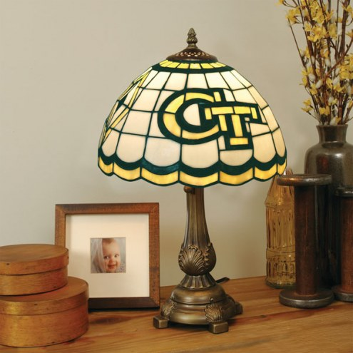 Georgia Tech Yellow Jackets Tiffany Table Lamp