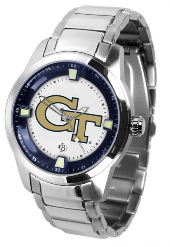 Georgia Tech Yellow Jackets Titan Steel Men's Watch
