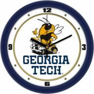 Georgia Tech Yellow Jackets Traditional Wall Clock