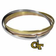 Georgia Tech Yellow Jackets Tri-color Bangle Bracelet