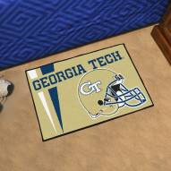 Georgia Tech Yellow Jackets Uniform Inspired Starter Rug