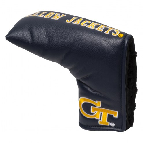 Georgia Tech Yellow Jackets Vintage Golf Blade Putter Cover