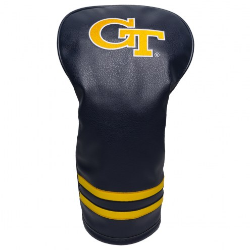 Georgia Tech Yellow Jackets Vintage Golf Driver Headcover