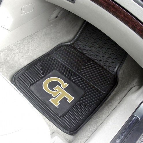 Georgia Tech Yellow Jackets Vinyl 2-Piece Car Floor Mats