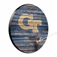 Georgia Tech Yellow Jackets Weathered Design Hook & Ring Game