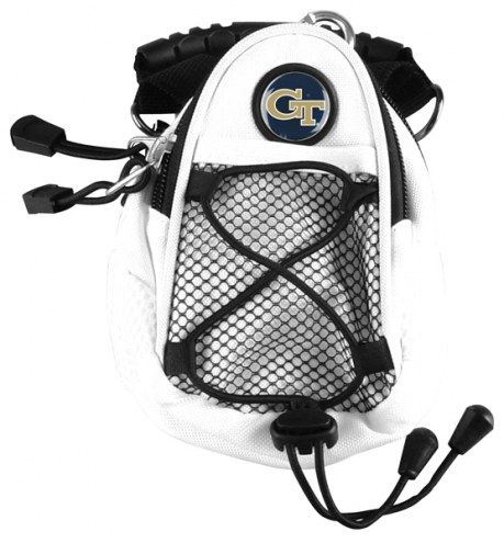 Georgia Tech Yellow Jackets White Mini Day Pack