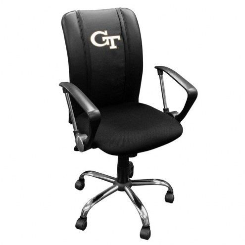 Georgia Tech Yellow Jackets XZipit Curve Desk Chair