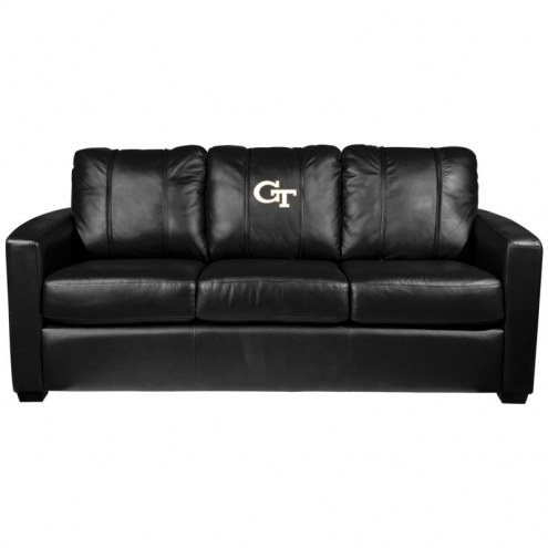 Georgia Tech Yellow Jackets XZipit Silver Sofa