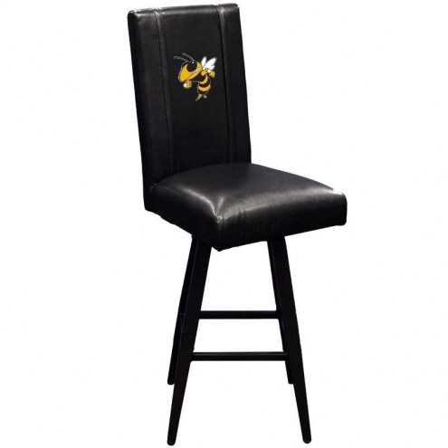 Georgia Tech Yellow Jackets XZipit Swivel Bar Stool 2000 with Buzz Logo