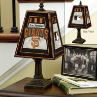 San Francisco Giants MLB Hand-Painted Art Glass Table Lamp