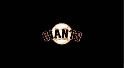 San Francisco Giants MLB Team Logo Billiard Cloth